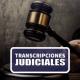 transcripciones de audio a texto en derecho